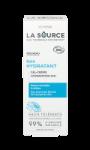 Crème hydratante pour le visage Bio hydratation 24h La Source