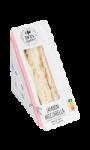 Sandwich pain de mie aux 5 graines, jambon et mozzarella Bon appétit! Carrefour