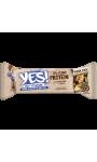 Barre aux cacahuètes, noix de cajou, myrtilles, protéines de pois et chocolat noir Yes!