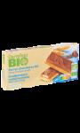 Barres chocolat au lait coeur fondant au lait Carrefour Bio