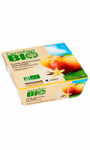 Purée de pomme à la vanille sans sucres ajoutés Carrefour Bio