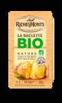 Fromage à raclette nature Bio RichesMonts