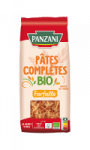 Pâtes farfalle blé complet Bio Panzani