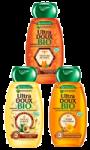 Shampooing trésors de miel, avocat karité ou argan merveilleux Ultra Doux Bio Garnier